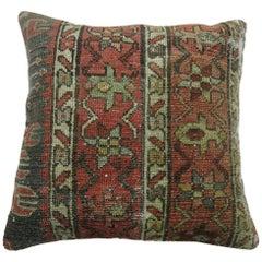 Heriz Persian Rug Pillow
