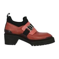Hermès Woman Loafers Black Leather IT 38