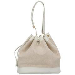 Hermès Woman Shoulder bag  Ecru Cotton