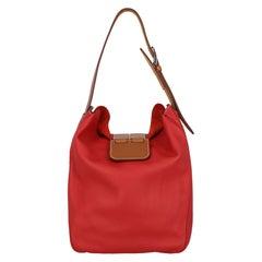 Hermès  Women   Shoulder bags  Red Leather