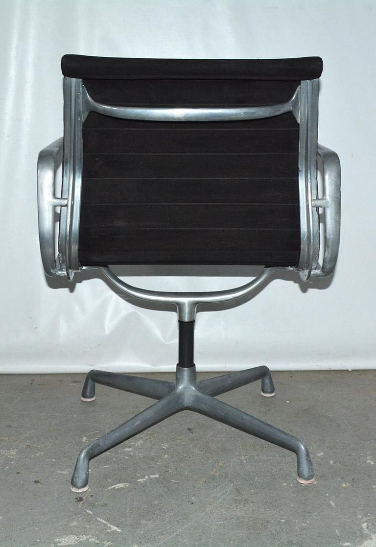 American Herman Miller Aluminum Group Office Armchair For Sale
