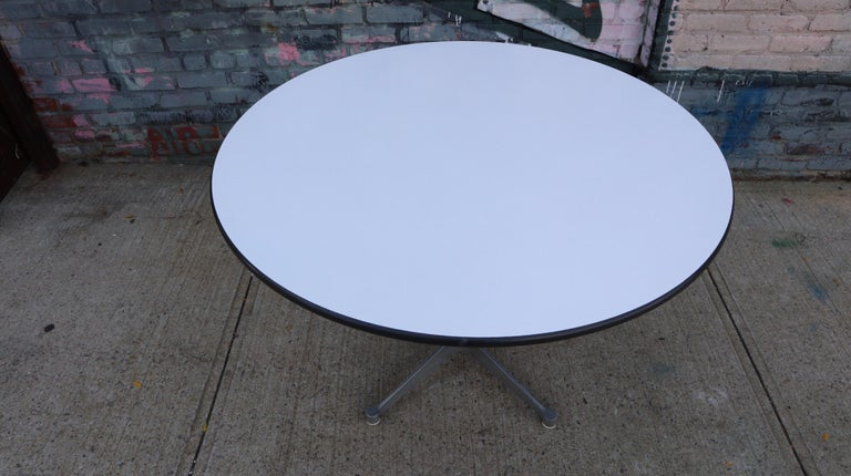 American Herman Miller Eames Dining Table For Sale