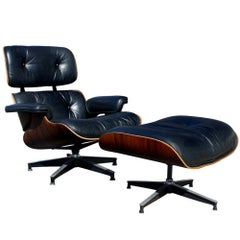 Herman Miller Eames 670 Lounge and 671 Ottoman