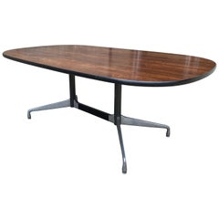 Herman Miller Eames Conference or Dining Table in Brazilian Rosewood