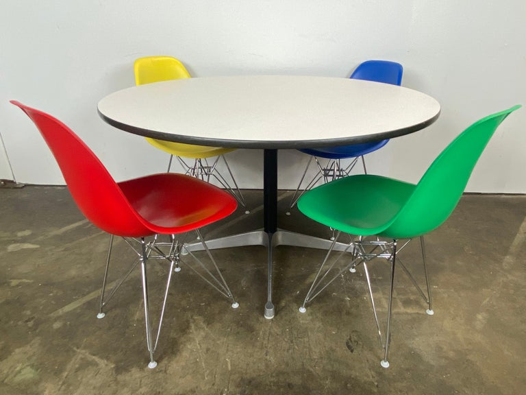 20th Century Herman Miller Eames Dining Set For Sale