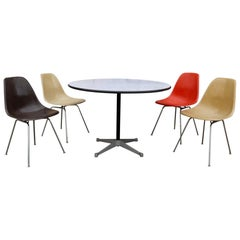 Herman Miller Eames Dining Set with Table
