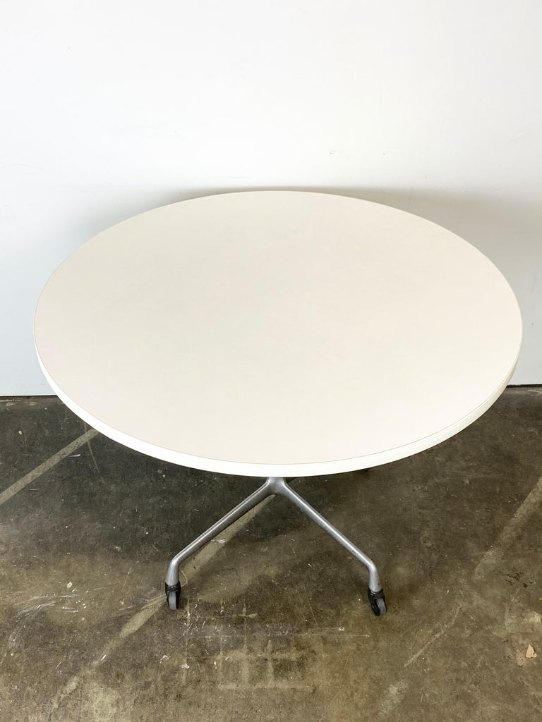 Laminate Herman Miller Eames Dining Table For Sale