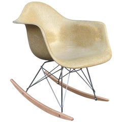 Herman Miller Eames Fiberglass Rocker Model RAR