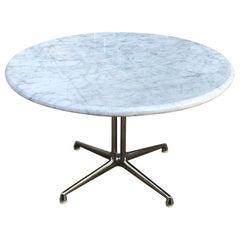 Herman Miller Eames La Fonda Coffee Table in Carrara Marble