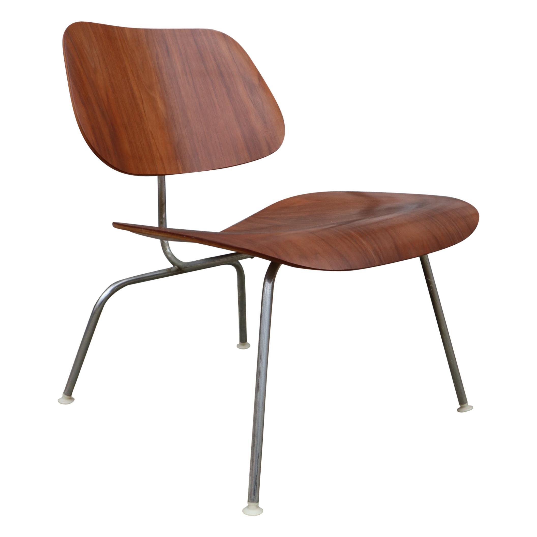 Herman Miller Eames LCM Lounge Chair in Walnut