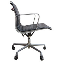Herman Miller Eames Leather Management Desk Chair