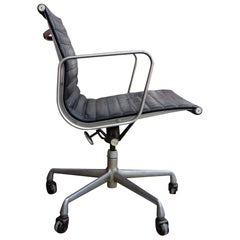 Herman Miller Eames Leather Management Desk Chair