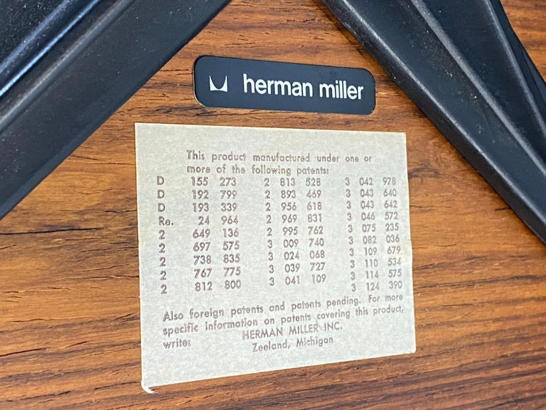 Herman Miller Eames Lounge Chair and Ottoman For Sale 8