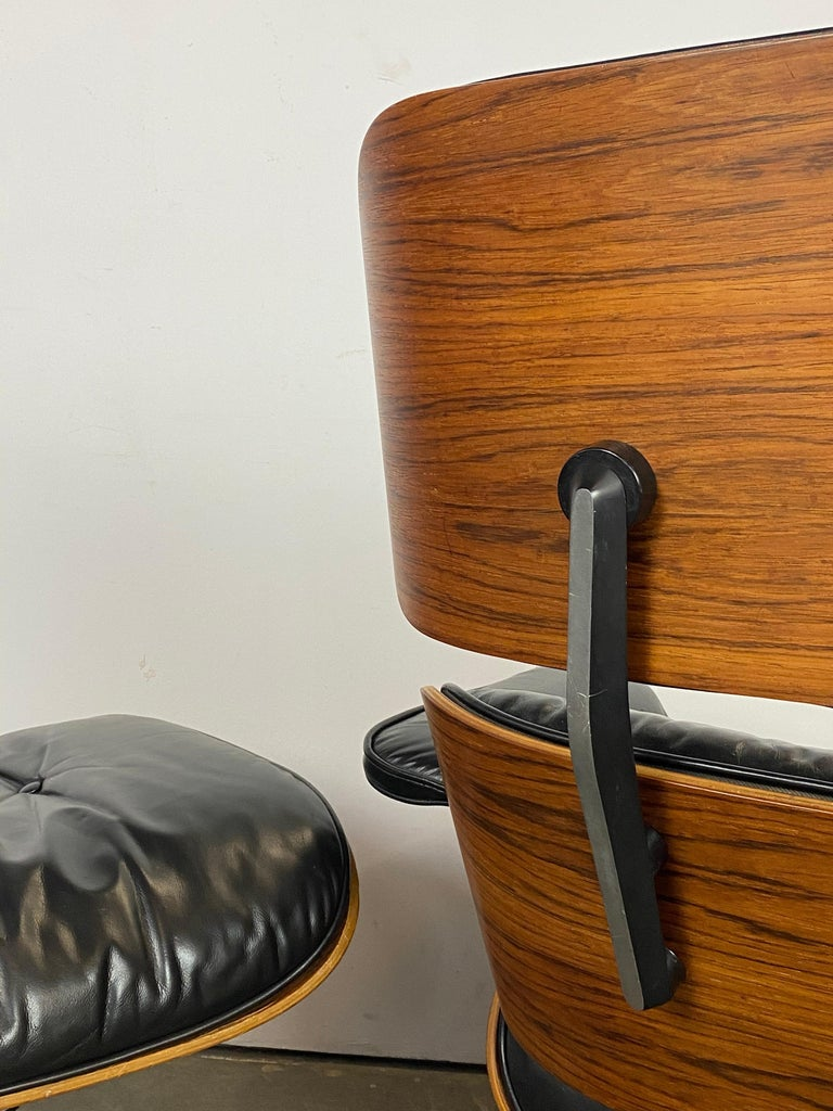 Herman Miller Eames Lounge Chair and Ottoman For Sale 9