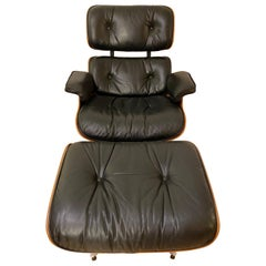 Herman Miller Eames Lounge Chair and Ottoman