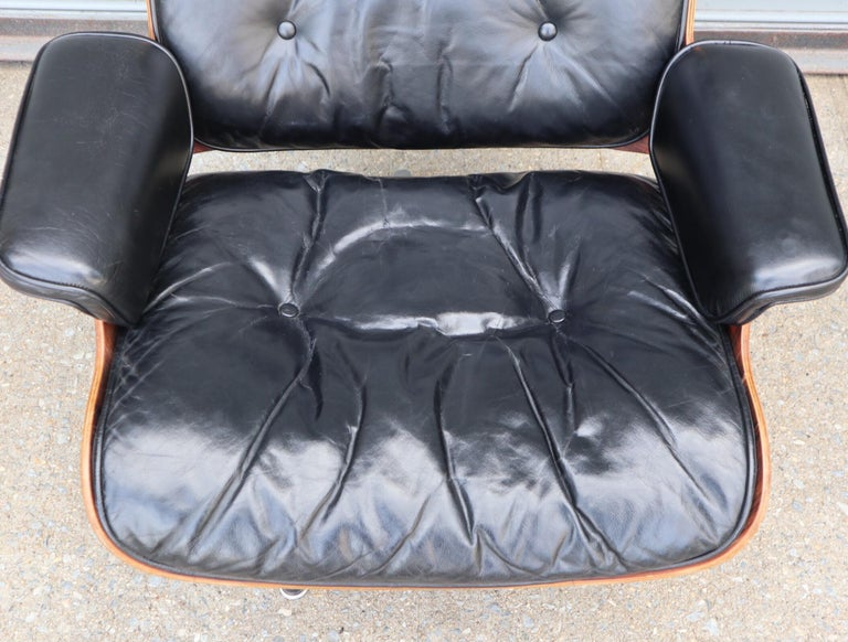 Herman Miller Eames Lounge Chair and Ottoman in Rosewood 5