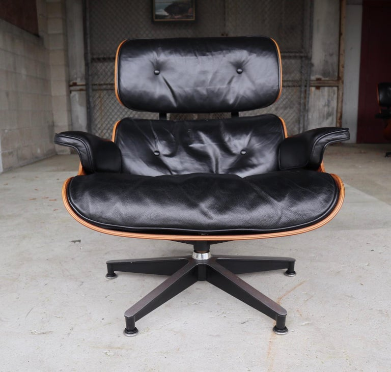 20th Century Herman Miller Eames Lounge Chair in Rosewood