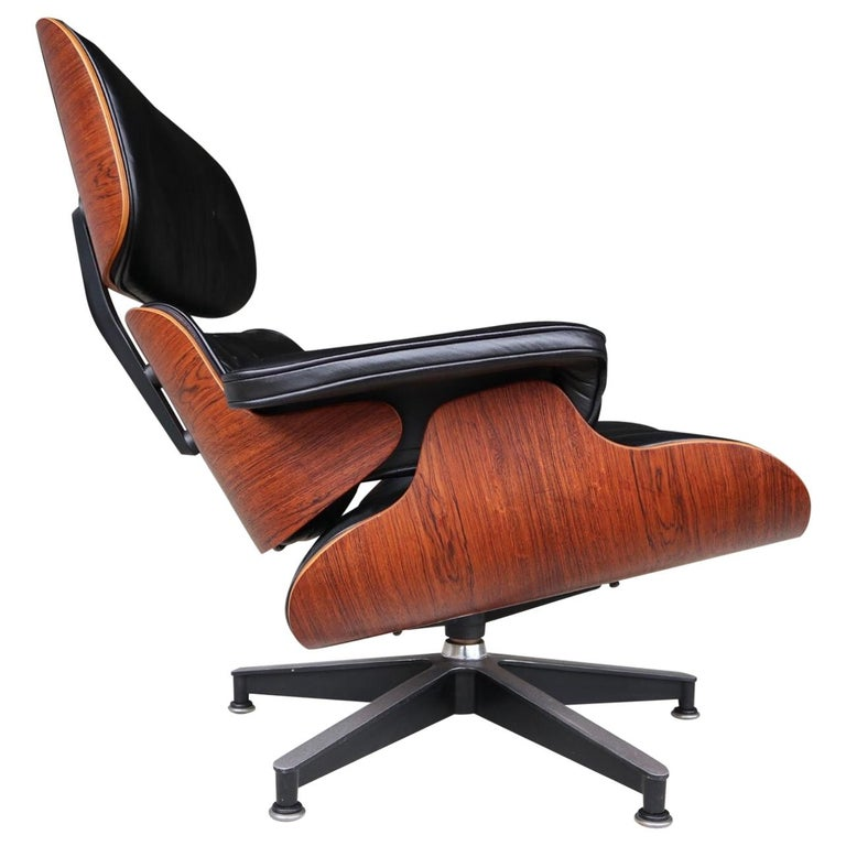 Herman Miller Eames Lounge Chair in Rosewood