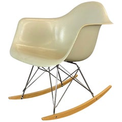 Herman Miller Eames RAR Rocker in Parchment