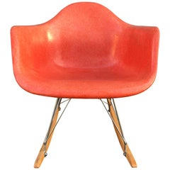 Herman Miller Eames Rocking Chair in Salmon