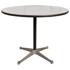 Herman Miller Eames Round Dining Table with Aluminum Base