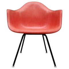 Herman Miller Eames Salmon Armchair on Low Lounge Base