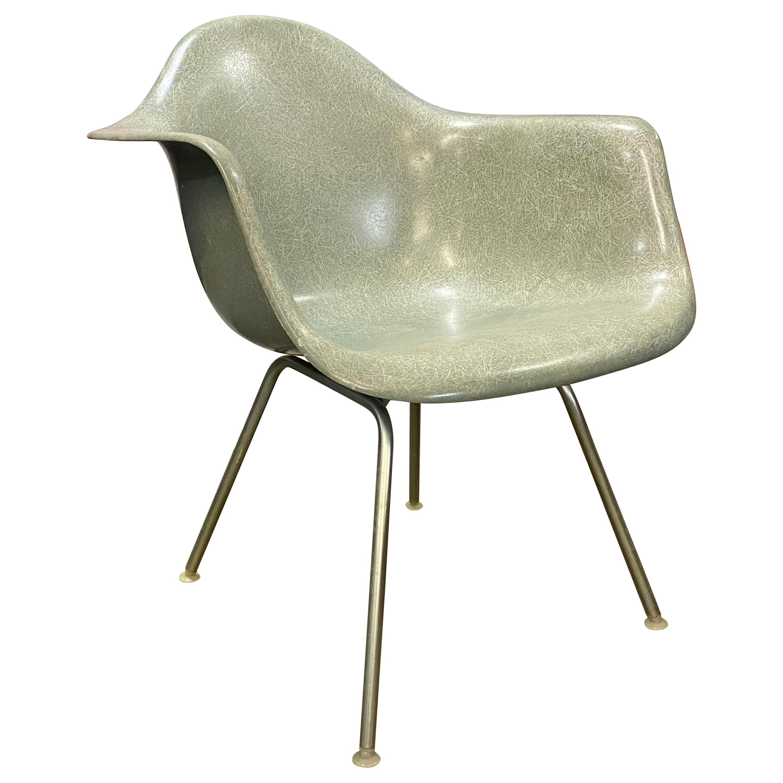 Herman Miller Eames Seafoam Green Chair Model LAX