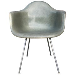Herman Miller Eames Zenith 2nd Edition Armchair in a Seafoam Green