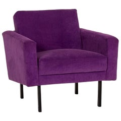 Herman Miller Fabric Armchair Purple