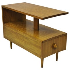 Herman Miller Gilbert Rohde Paldao One Drawer Mahogany End Table
