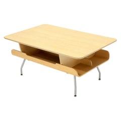 Herman Miller Molded Plywood Magazine Rack Coffee Table