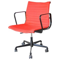 Herman Miller Office Chair in Red Fabric