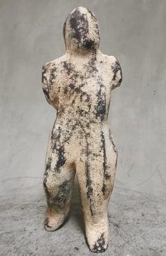 """Once-Off Patina Bronze Sculpture """"In Beweging"""""""
