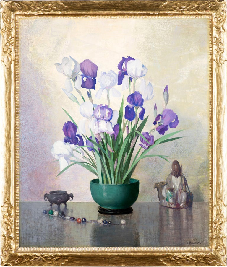 Iris - Painting by Hermann Dudley Murphy