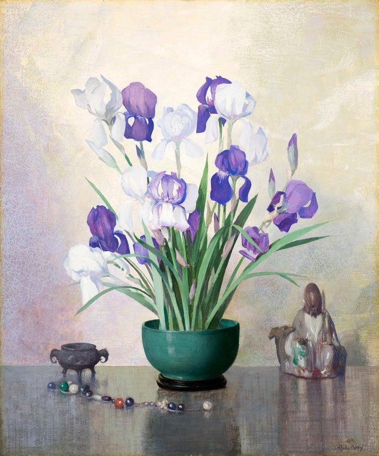 Hermann Dudley Murphy Still-Life Painting - Iris