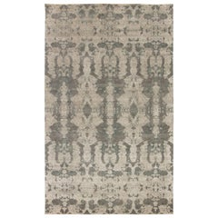 Hermann Hand Knotted Silk and Wool Rug