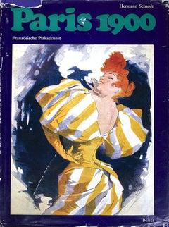 1968 After Hermann Schardt 'Paris 1900' Blue,Multicolor Book