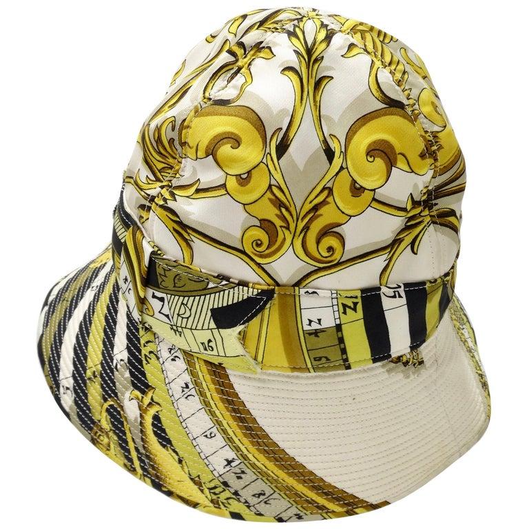 Hermés 1970s Astrology Bucket Hat  For Sale