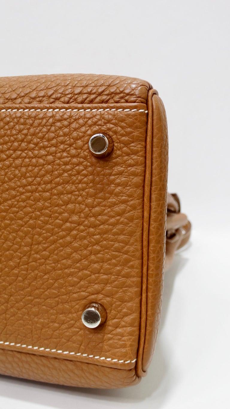 Hermès 2005 Kelly Retourne 35cm Gold Togo Leather  5