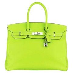 Hermès 2011 Birkin 35cm Candy Collection Epsom Leather Bag