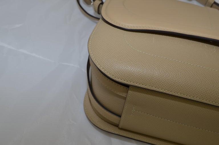 Hermes 2016 Harnais Khaki Shoulder Bag For Sale 5