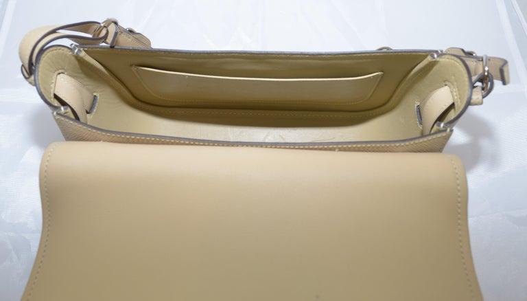 Hermes 2016 Harnais Khaki Shoulder Bag For Sale 11