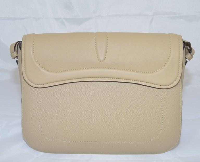 Women's or Men's Hermes 2016 Harnais Khaki Shoulder Bag For Sale
