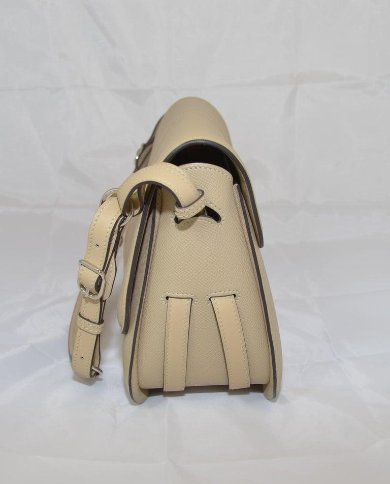 Hermes 2016 Harnais Khaki Shoulder Bag For Sale 2