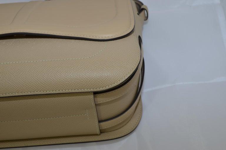 Hermes 2016 Harnais Khaki Shoulder Bag For Sale 4