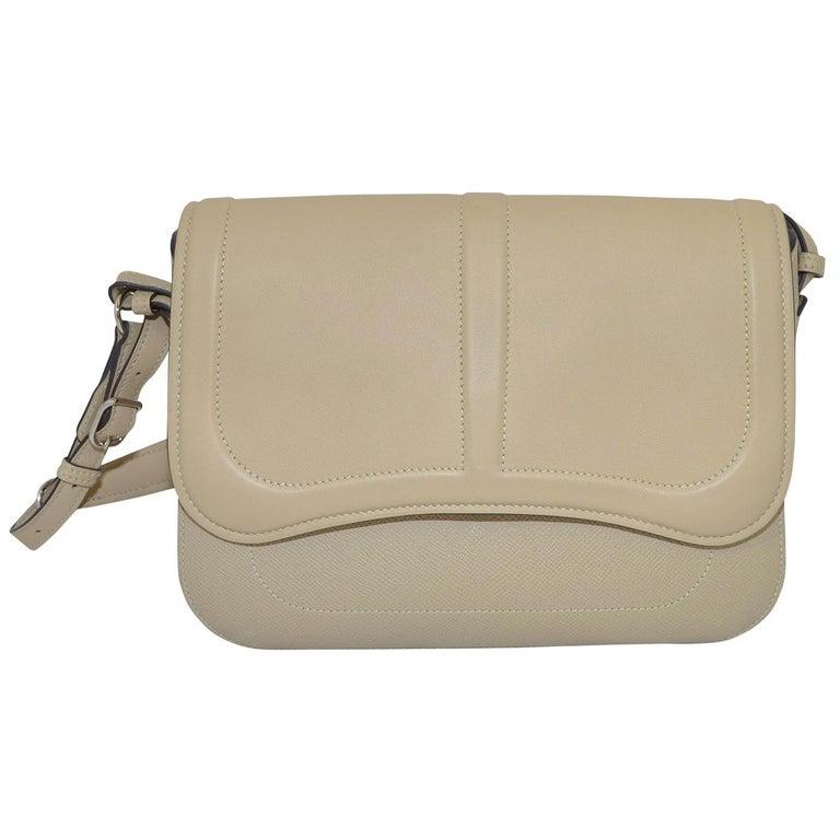 Hermes 2016 Harnais Khaki Shoulder Bag For Sale