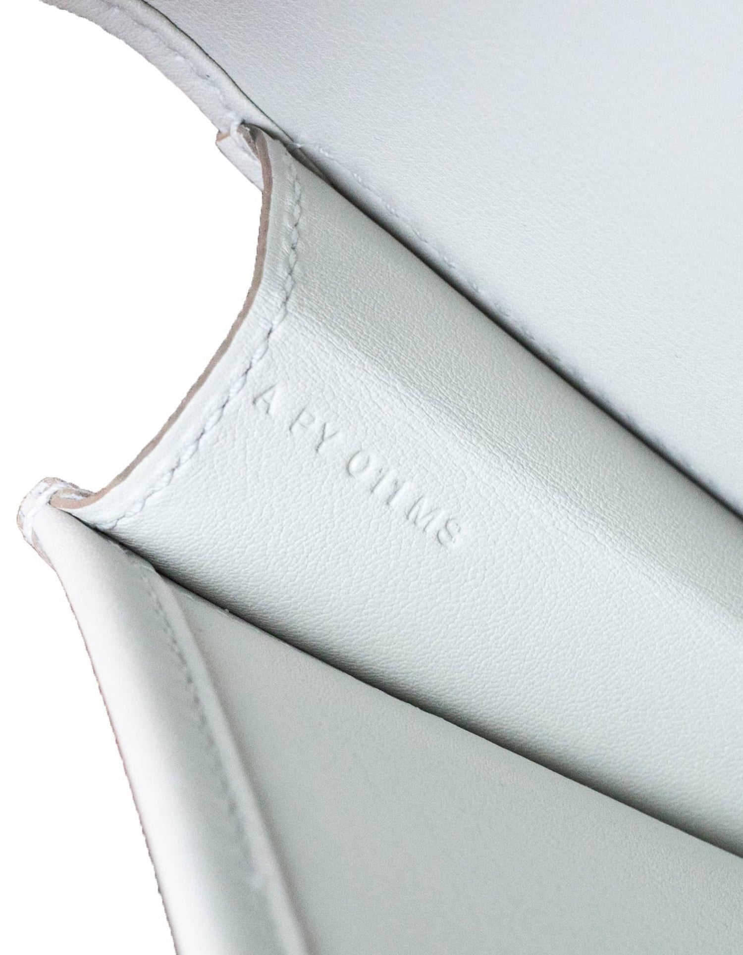 a34fe6de0914 Hermes 2017 Beton Off-White Swift Leather Jige Elan 29cm Clutch Bag For  Sale at 1stdibs