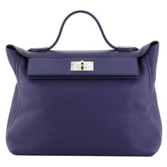 Hermes 24/24 Bag Clemence with Swift 35