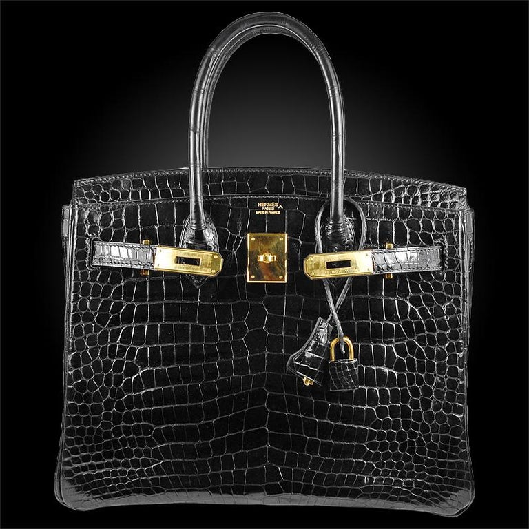 Hérmes 30cm Black Birkin Bag In Excellent Condition For Sale In New York, NY