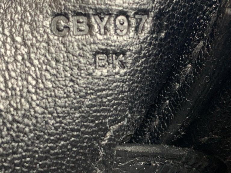 Hérmes 30cm Black Crocodile / Togo Birkin Touch Bag For Sale 5